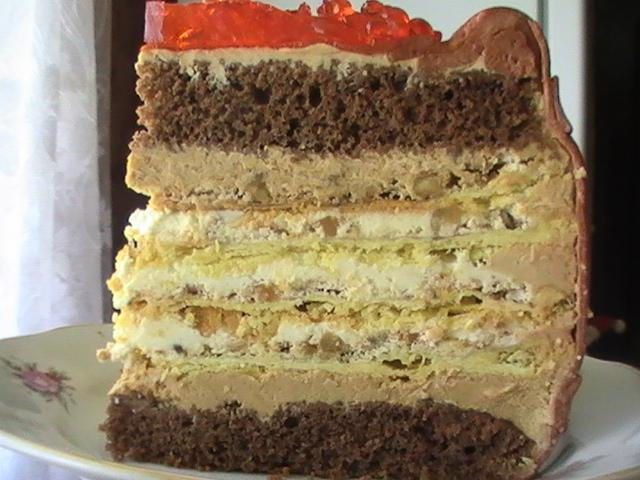 Торт крещатый яр рецепт с фото пошагово в домашних условиях