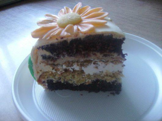 Торт крещатый яр рецепт пошагово