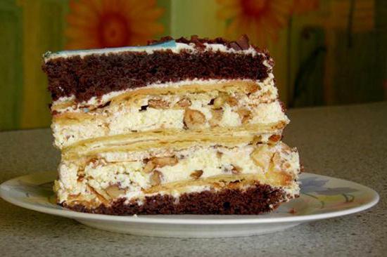 Крещатый яр торт рецепт пошагово с фото