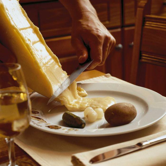 сыром Рецепты раклет с