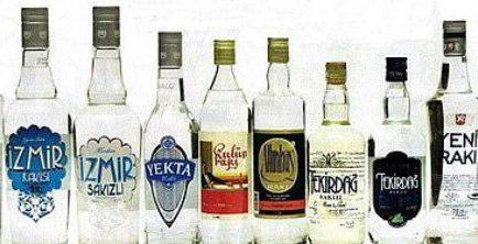 Турецкая анисовая водка