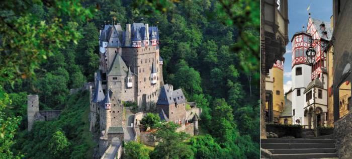 Замок эльц германия