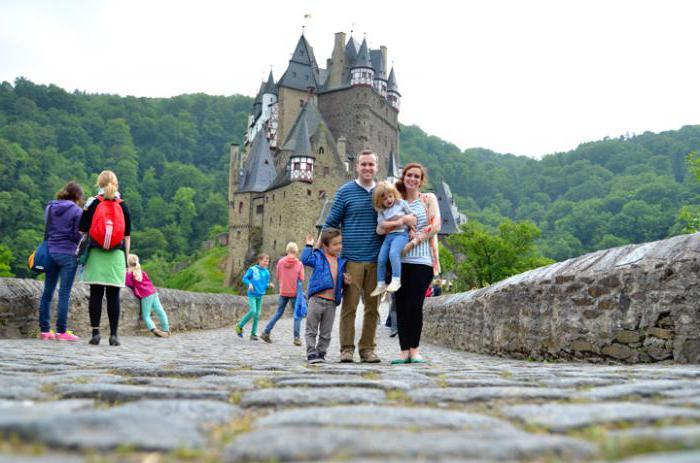 Замок эльц германия как добраться