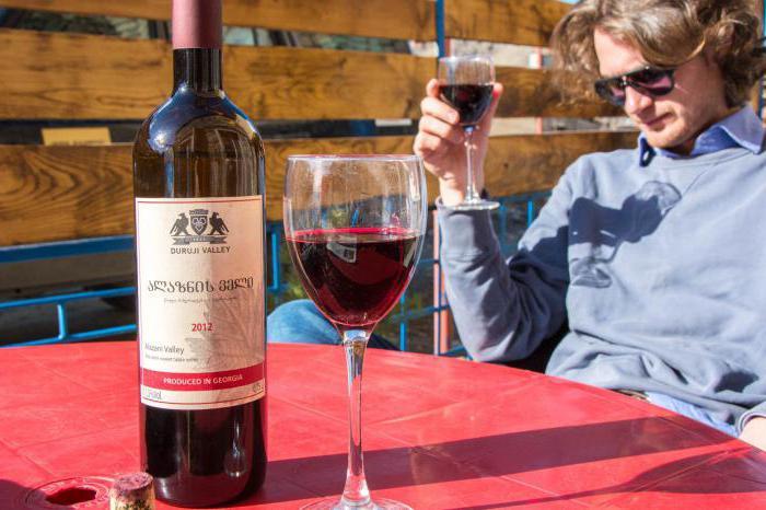 Грузинское вино Алазанская долина: отзывы, характеристики, виды