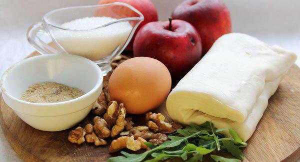 Рецепт штруделя яблочного классического