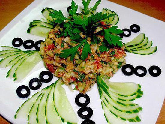 Праздничные салаты идеи оформления и рецепты