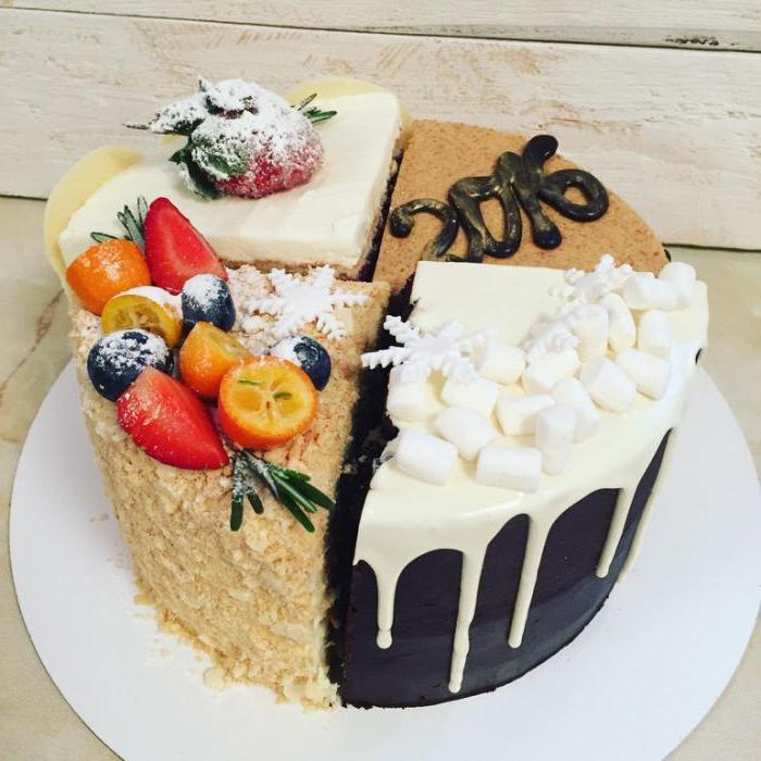 глубокую красивая картинка торта четвертинки горы полностью