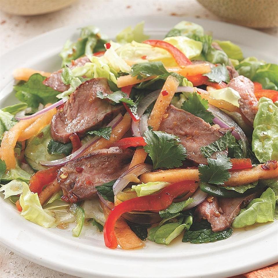салат из жареной говядины рецепт с фото пепельные волосы идеальный