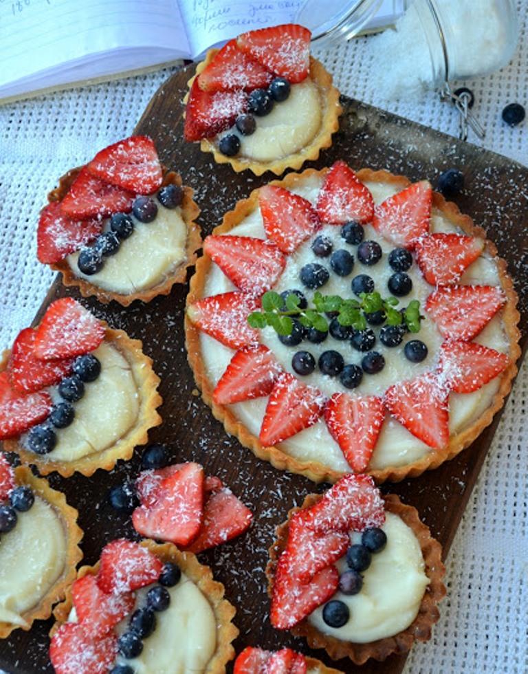 Тарталетки с сладкой начинкой для детей рецепты
