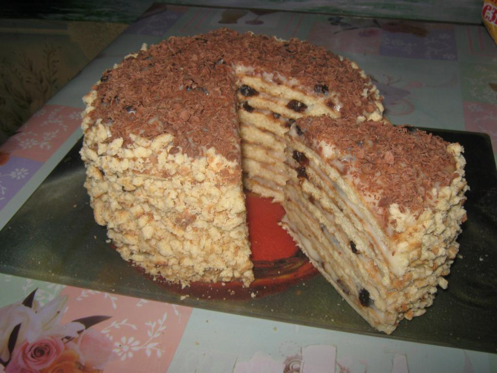 рецепты тортов со сгущенкой рецепты с картинками всё