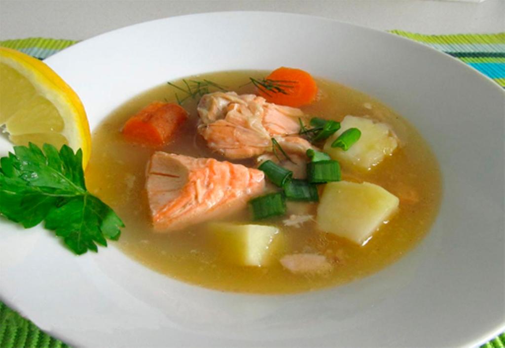 вместе, уха из лосося рецепт с фото одна причина