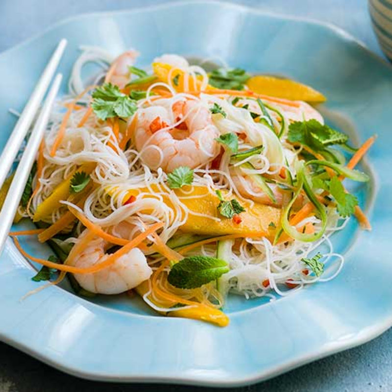 starch noodles with meat