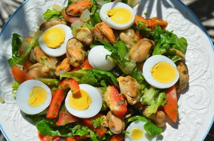Мидии в масле салаты рецепты