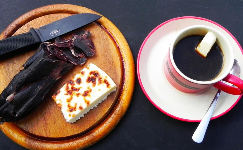 Coffee with cheese: recipe with photo
