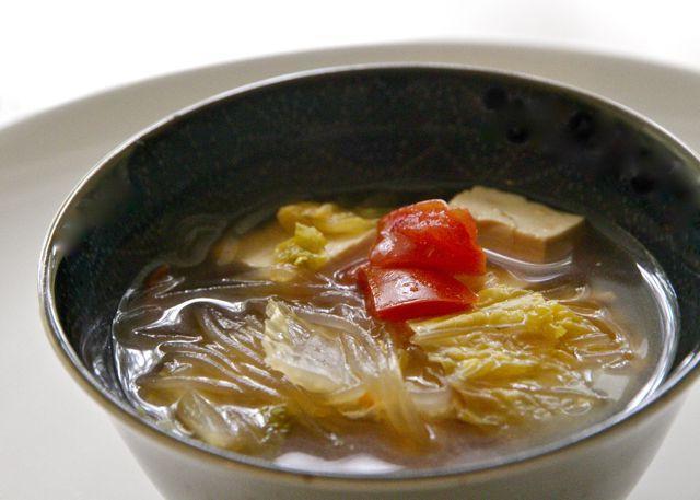 суп с фунчозой рецепт перцем