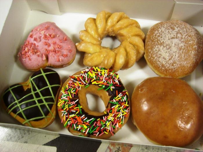 Пончики Krispy kreme