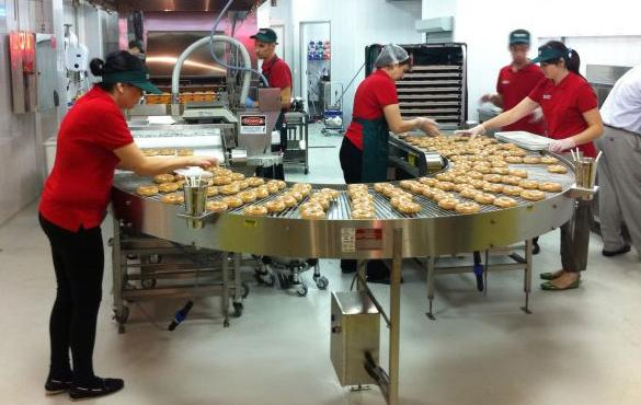 Krispy Kreme в москве
