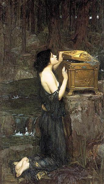 Ящик пандоры мифы древней греции
