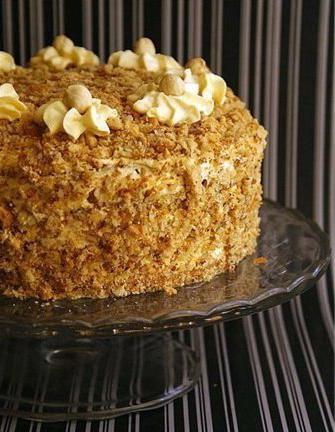Торт с черносливом и грецкими орехами рецепт