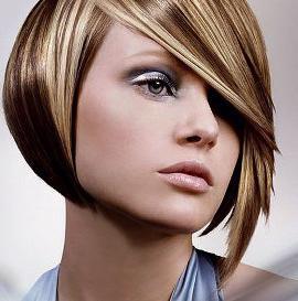 Темное мелирование на русые волосы