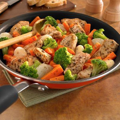 Рецепты с курицей с овощами