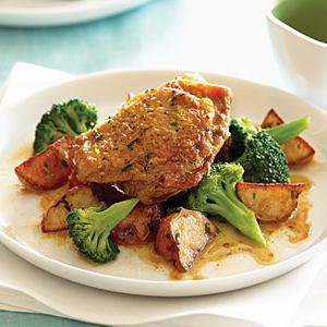 Рецепты с курицей и овощами