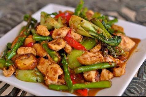 Рецепт приготовления курицы с овощами
