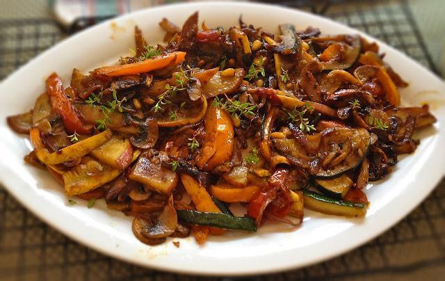 Курица с овощами китайский рецепт