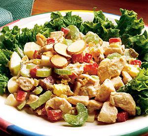 Салат курица с овощами рецепт