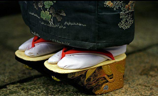 мужская японская обувь фото - 1