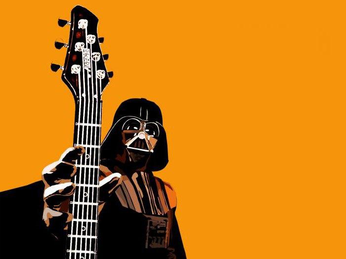 Корона, прикольные рисунки на гитары