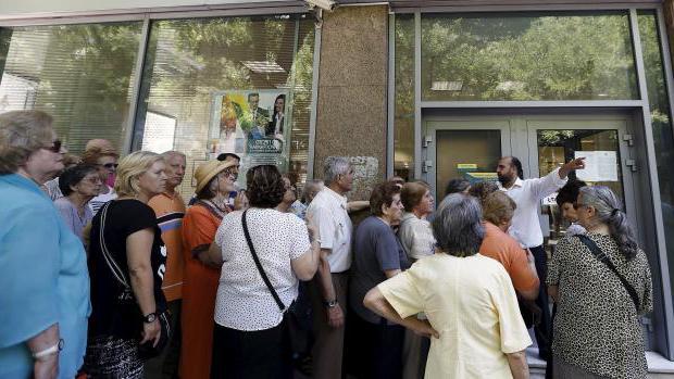 минимальная пенсия в греции