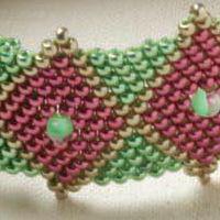 мозаичное плетение бисером мастер класс