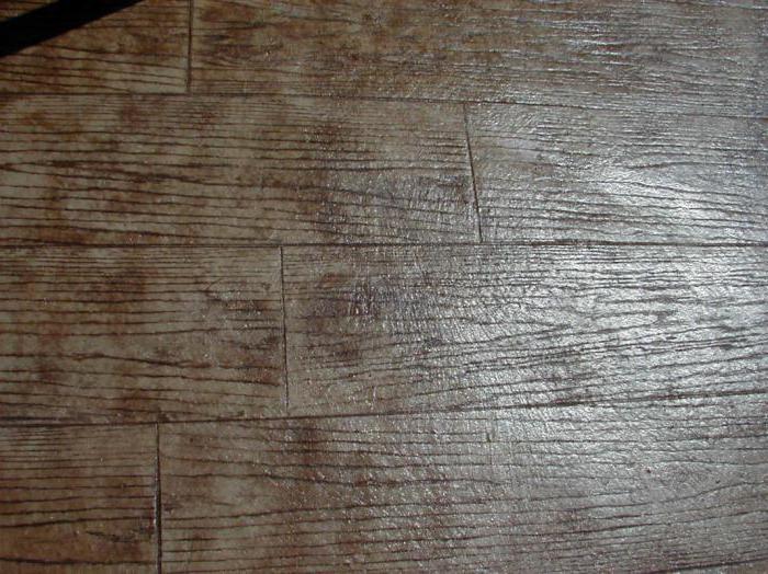Декоративный печатный бетон своими руками