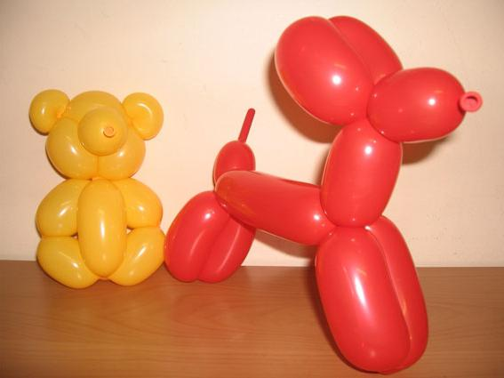 Фигуры длинными шарами своими руками