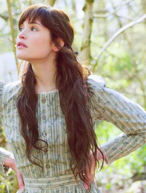 Причёски на длинные волосы с чёлкой: виды чёлок, возможности укладки,