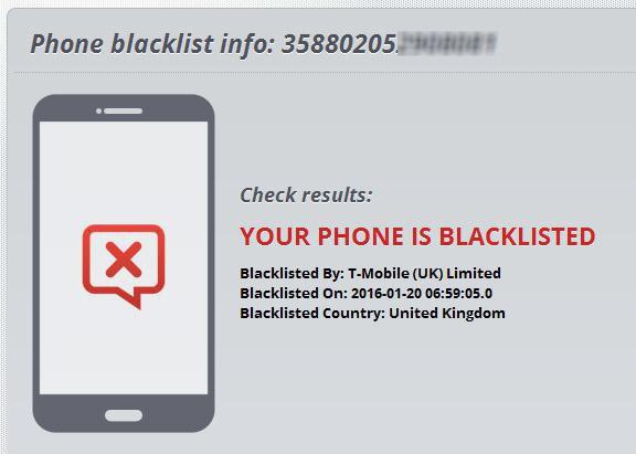 Как найти черный список в телефоне