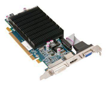 Обзор видеокарты Radeon HD 5470, описание характеристики