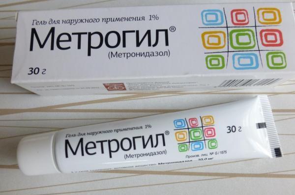 метрогил гель для наружного применения