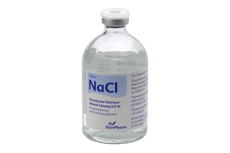 как сделать физраствор для промывания носа грудничку