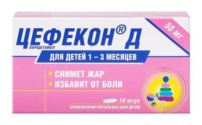 цефекон свечи 250 мг для детей