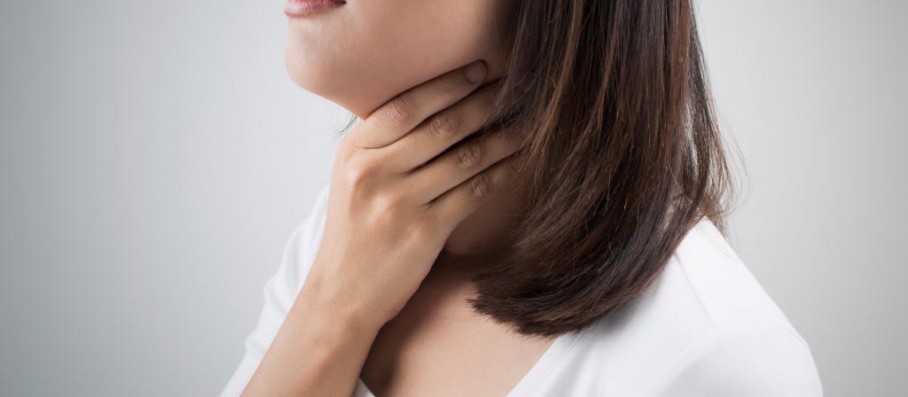 заболевания носоглотки слизь стекает по задней стенке