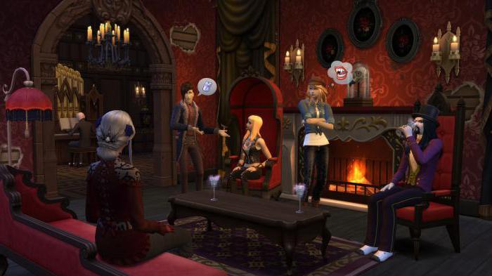 читы симс 4 вампиры