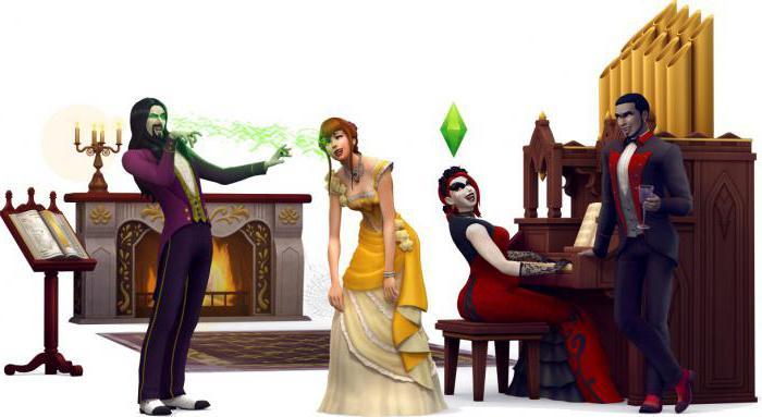 симс 4 вампиры