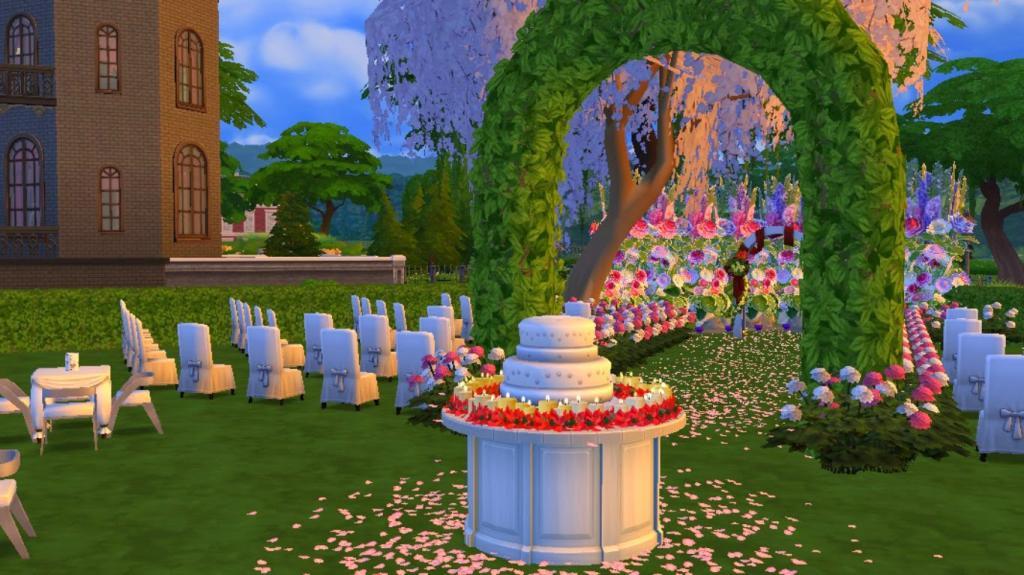 """Где взять свадебный торт в игре """"Симс 4"""""""