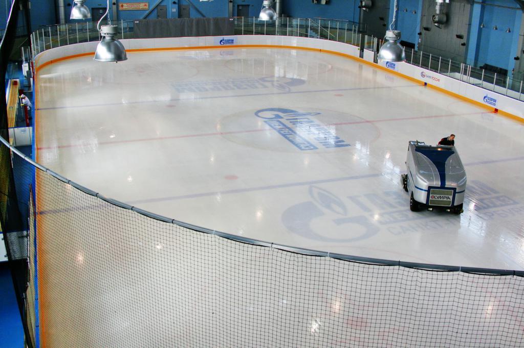 Картинка искусственного льда