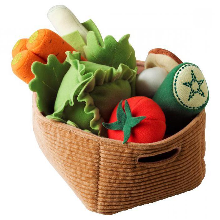 Овощи из фетра своими руками мастер класс