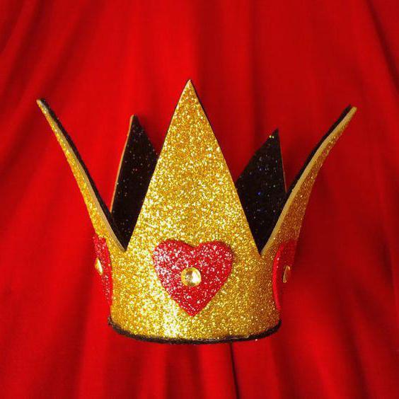корона из фоамирана на ободке