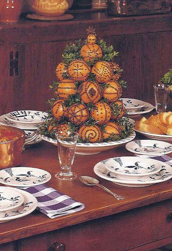 мандариновый букет