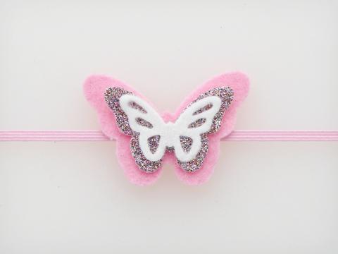 шаблон бабочки из фетра своими руками